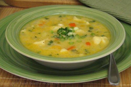 Healthy fish chowder recipe for Fish soup recipe cod